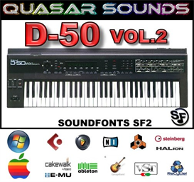 Roland D-50  Vol.2   Soundfonts Sf2 | Music | Soundbanks