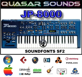 Roland Jp-8000 Vol.2   -  Soundfonts Sf2 | Music | Soundbanks