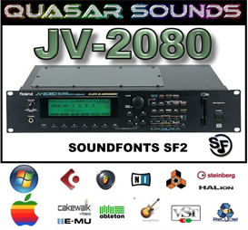 roland jv-2080  -  soundfonts sf2