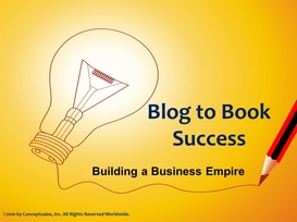 Blog to Book Success Webinar