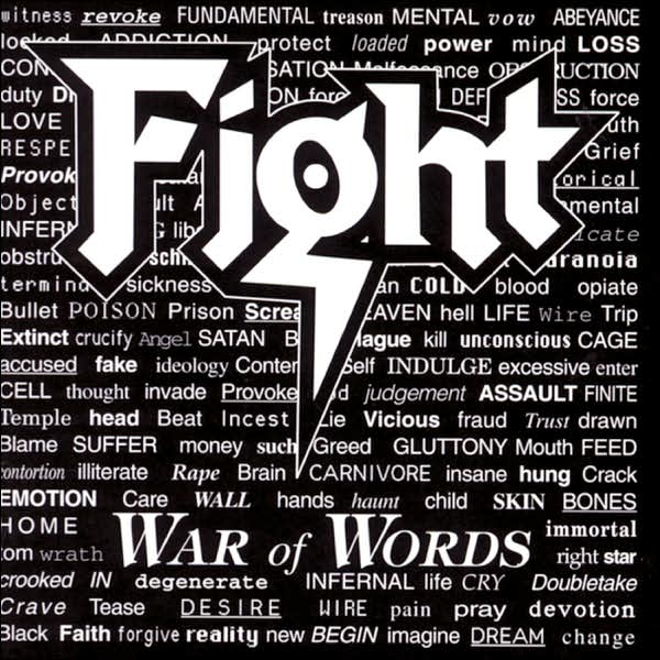 First Additional product image for - FIGHT (ROB HALFORD) War Of Words (1993) 320 Kbps MP3 ALBUM