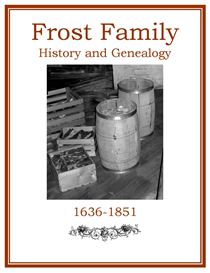 Frost Family History and Genealogy | eBooks | History