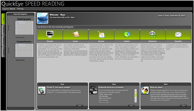 QuickEye Speed Reading Software (Windows Version)