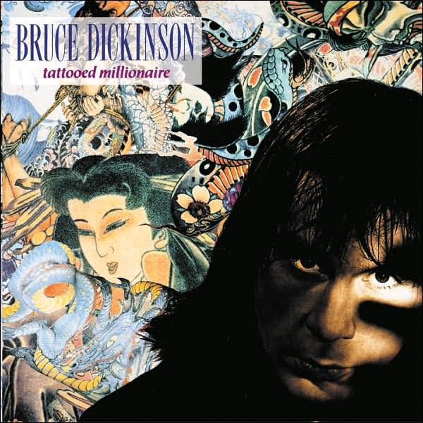 First Additional product image for - BRUCE DICKINSON Tattooed Millionaire (2002) (RMST) (COLUMBIA) (5 BONUS TRACKS) 320 Kbps MP3 ALBUM