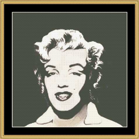 Pop Art Ii (Monroe) - Cross Stitch Download | Crafting | Cross-Stitch | Other