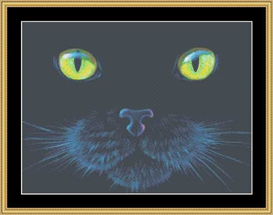 The Many Faces -Black Cat  Cross Stitch Download | Crafting | Cross-Stitch | Other