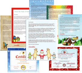 Santa Letter Templates - Complete Package | Other Files | Patterns and Templates