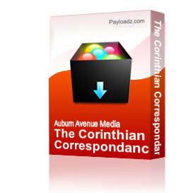 The Corinthian Correspondance - Rich Lusk - MP3 3 of 4 | Other Files | Presentations