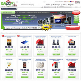 Latest Real Working Swoopo Clone 2010 | Software | Developer