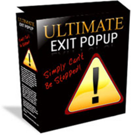 Ultimate Exit Pop-Up | Software | Internet