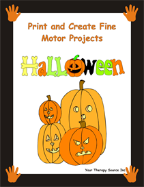 Print and Create Fine Motor Halloween | eBooks | Education