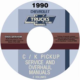 1990 chevrolet truck shop manuals