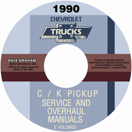1990 Chevrolet Truck Shop Manuals | eBooks | Automotive