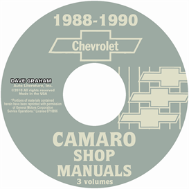1988-1990 Chevrolet Camaro Shop Manuals | eBooks | Automotive