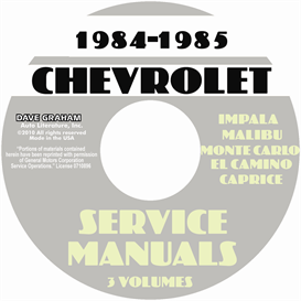84-85 Chevy Passenger Car Shop Manuals | eBooks | Automotive