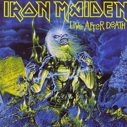 First Additional product image for - IRON MAIDEN Live After Death (1998) (RMST) (RAW POWER) (18 TRACKS) 320 Kbps MP3 ALBUM