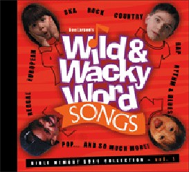 wild and wacky word songs volume 1