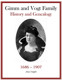 Gimm Family History and Genealogy | eBooks | History