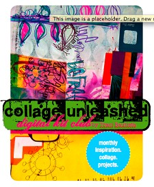 collage UNLEASHED digital kit club program info & FREE sample pages | Other Files | Arts and Crafts