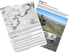 Woodchute Trail Photo Guide Jerome Arizona 4x4 Jeep BW printable PDF map | eBooks | Outdoors and Nature