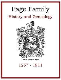 Page Family History and Genealogy | eBooks | History
