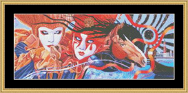 Venetian Masquerade - Cross Stitch Download | Crafting | Cross-Stitch | Other