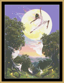 Dance Of The Moon Fairy - Cross Stitch Download | Crafting | Cross-Stitch | Other