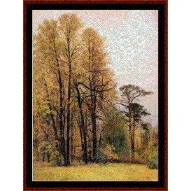 Autumn - Shishkin cross stitch pattern by Cross Stitch Collectibles | Crafting | Cross-Stitch | Wall Hangings
