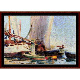 Guideca - Sargent cross stitch pattern by Cross Stitch Collectibles | Crafting | Cross-Stitch | Wall Hangings