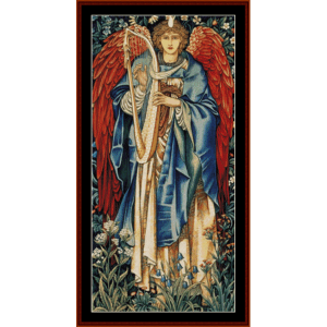 Alleluia - Burne-Jones cross stitch pattern by Cross Stitch Collectibles | Crafting | Cross-Stitch | Wall Hangings