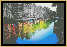 Canal Drive - Cross Stitch Download | Crafting | Cross-Stitch | Other
