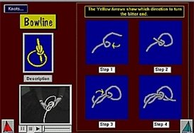 Learn To Tie Knots Digital Sailing Lesson App for Android | Software | Mobile