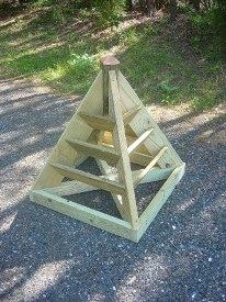 Third Additional product image for - 3 and 6 ft. Pyramid Planter Plans