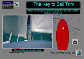 Introduction to Basic Sail Trim Digital Sailing Lesson App for Android | Software | Mobile