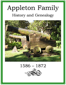 Appleton Family History and Genealogy | eBooks | History