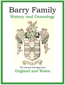 Barry Family History and Genealogy | eBooks | History