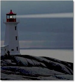 Old Lighthouse - 12 Minute Ocean Sounds | Audio Books | Health and Well Being