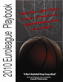 2010 Euroleague Playbook: Learn the style of play from Ettore Messina, Zeljko Obradovic, and many others | eBooks | Sports