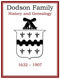 Dodson Family History and Genealogy | eBooks | History