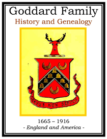 Goddard Family History and Genealogy | eBooks | History
