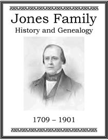 Jones Family History and Genealogy | eBooks | History