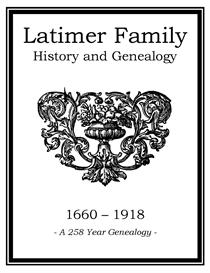 Latimer Family History and Genealogy | eBooks | History