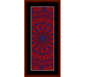 Fractal 290 Bookmark cross stitch pattern by Cross Stitch Collectibles | Crafting | Cross-Stitch | Other