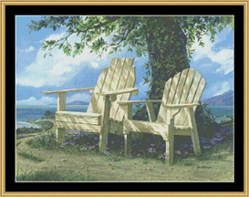 Preferred Seating - Cross Stitch Download | Crafting | Cross-Stitch | Other