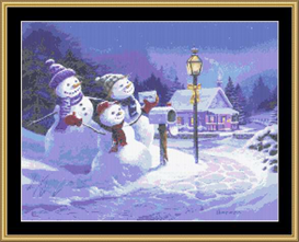 Letters To Santa - Cross Stitch Download   Crafting   Cross-Stitch   Other
