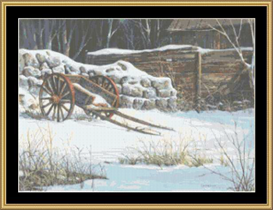 Hand Cart - Cross Stitch Download | Crafting | Cross-Stitch | Other