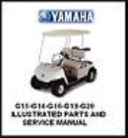 yahama g16 illustrated parts & service manuals