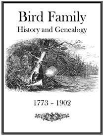 Bird Family History and Genealogy | eBooks | History