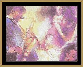 Jaz Sax - Cross Stitch Download | Crafting | Cross-Stitch | Other