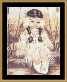 Cherokee Child - Cross Stitch Download | Crafting | Cross-Stitch | Other